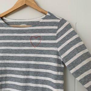 Old Navy Striped Boatneck Tee